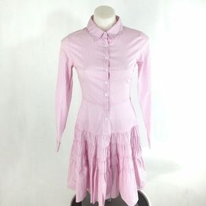 Gianni Bini Michelle Dress Peony Stripe Shirt